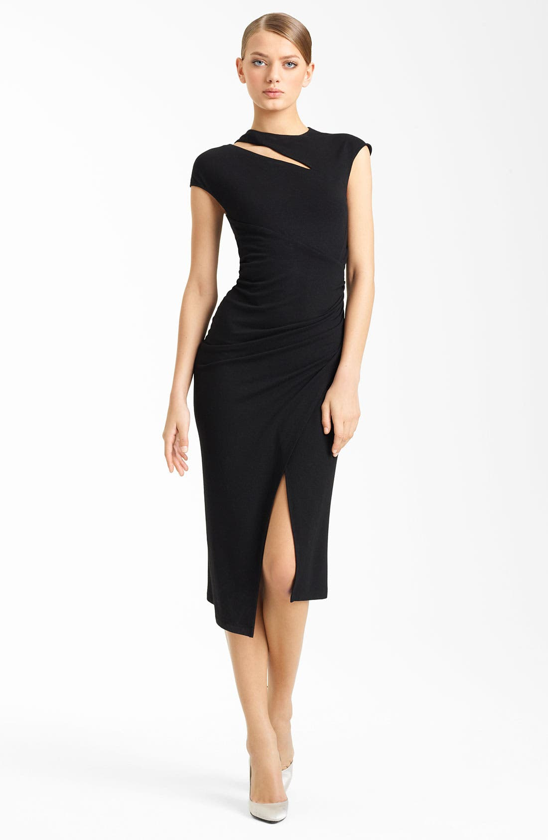 Alternate Image 1 Selected - Donna Karan Collection Side Drape Jersey Dress