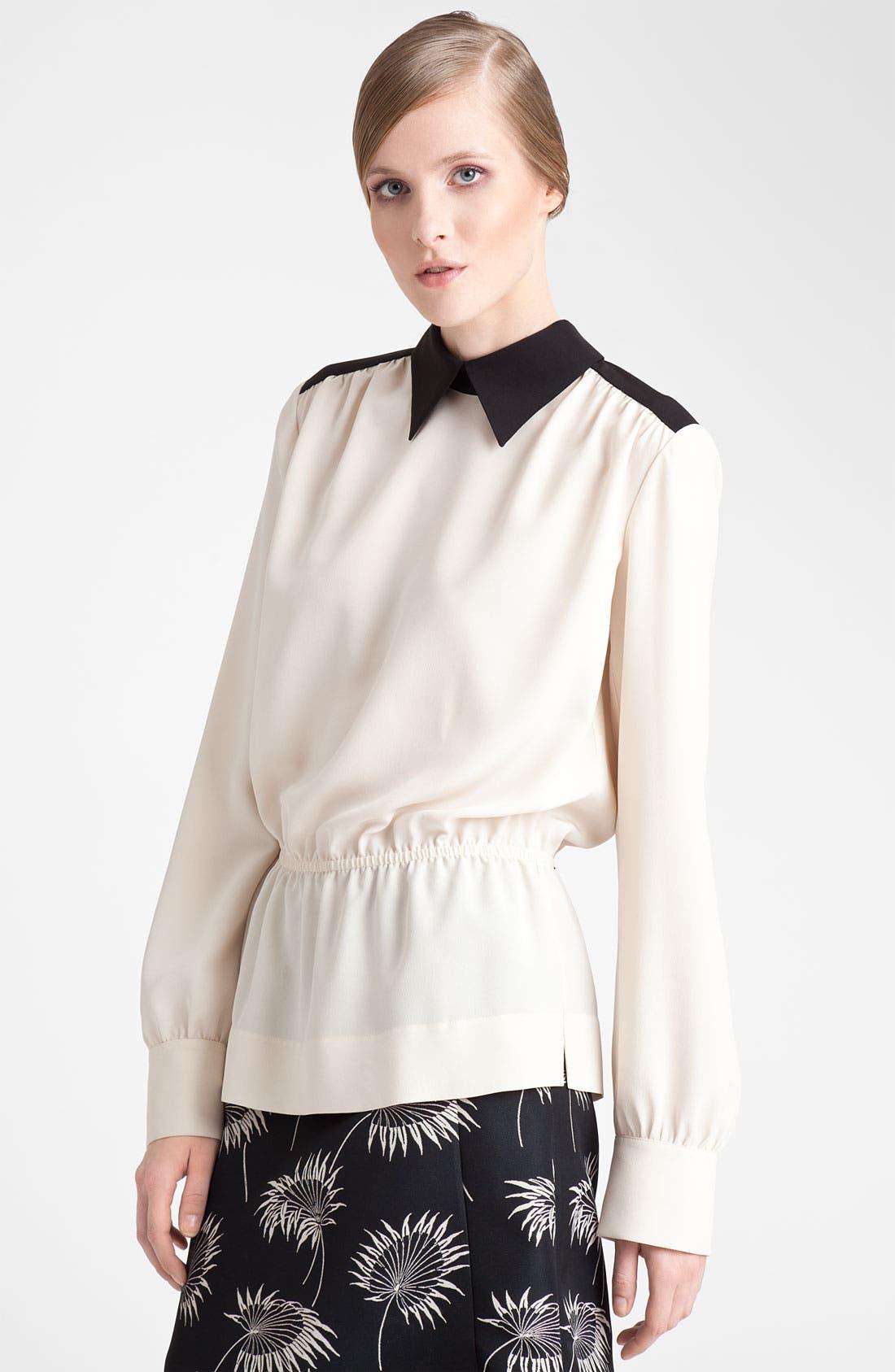 Alternate Image 1 Selected - Marni Blouson Silk Top