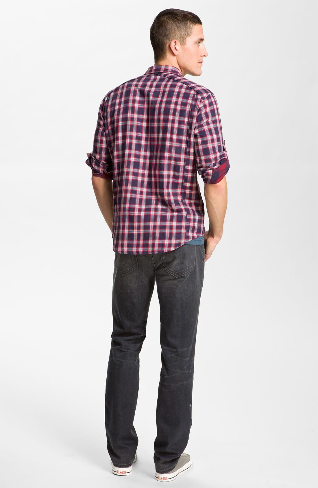 Alternate Image 6  - Joe's 'Brixton' Slim Straight Leg Jeans (Eldridge)