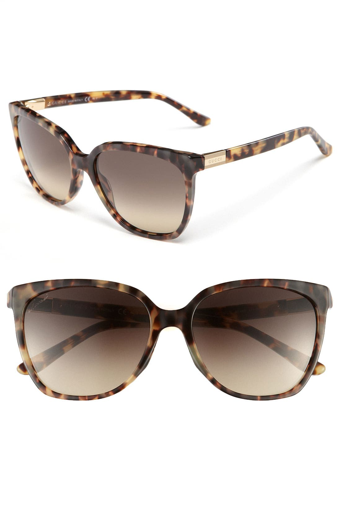 Main Image - Gucci 57mm Oversized Sunglasses