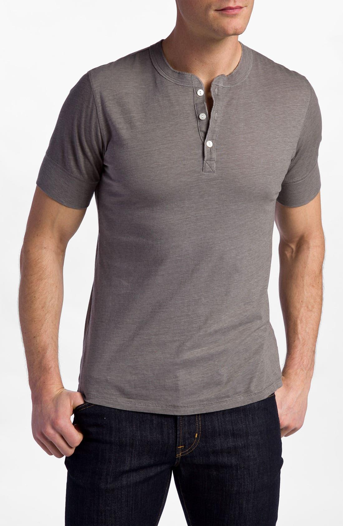 Main Image - NSF Clothing 'Archie' Short Sleeve Henley