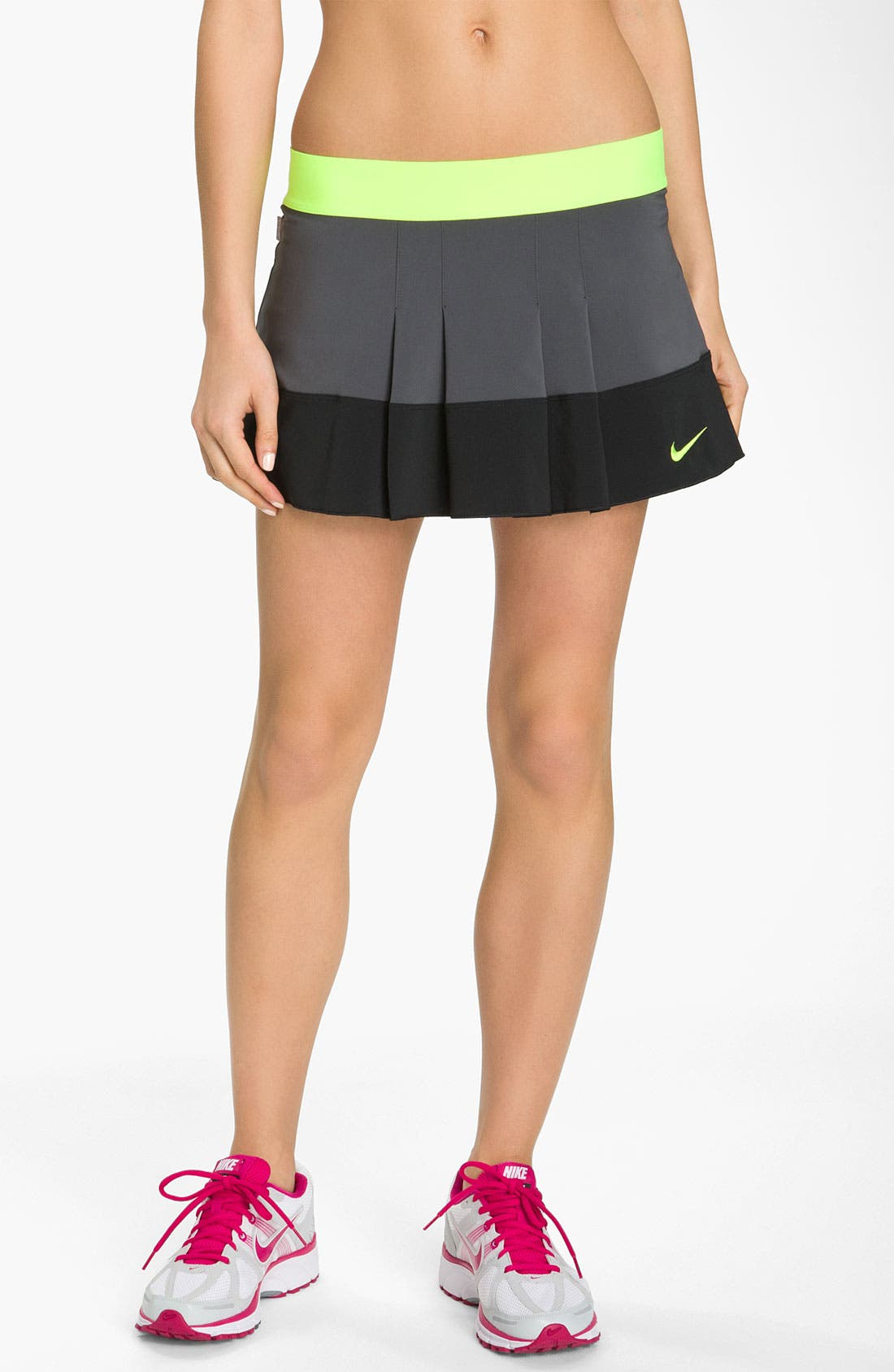 nike pleated woven tennis skirt nordstrom