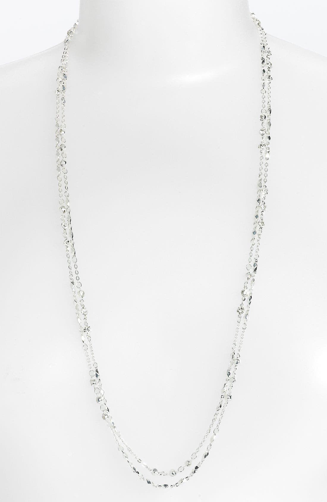 Alternate Image 1 Selected - Nordstrom 'Cleopatra' Long Double Row Necklace