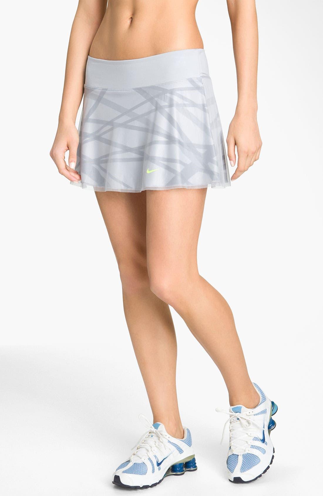 Alternate Image 1 Selected - Nike 'Maria Back Court' Tennis Skirt