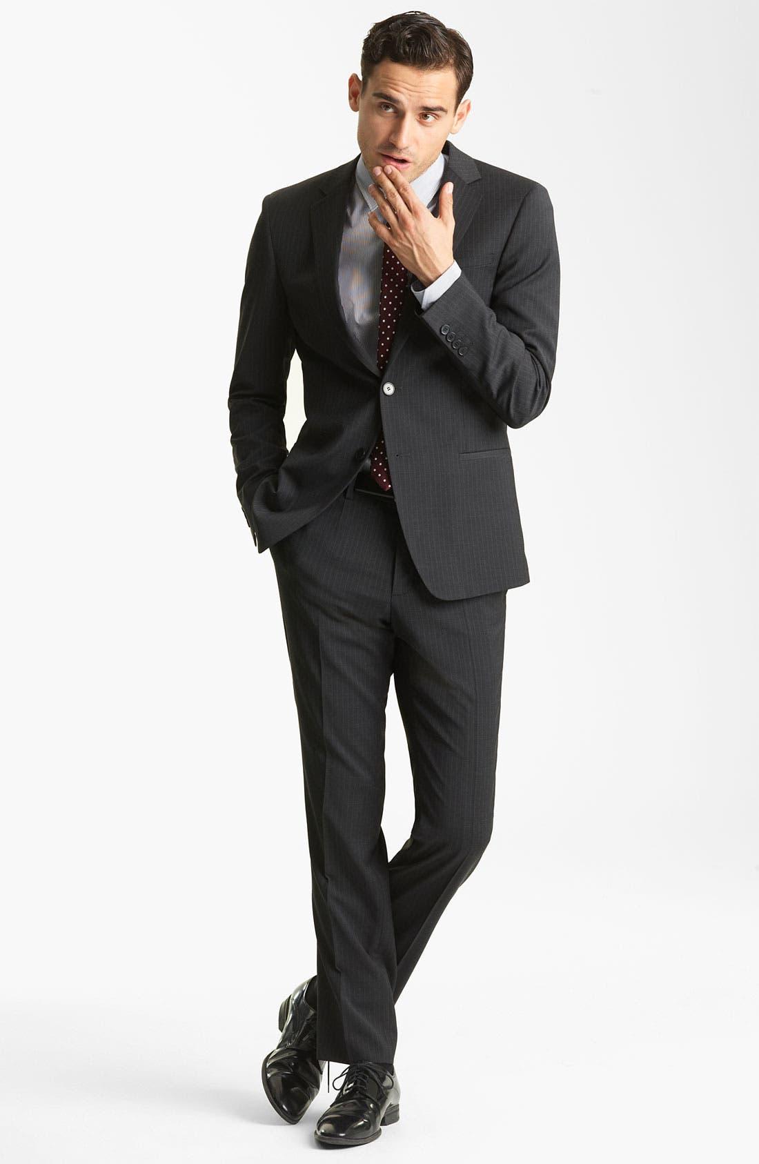 Alternate Image 2  - Dolce&Gabbana Pinstripe Suit