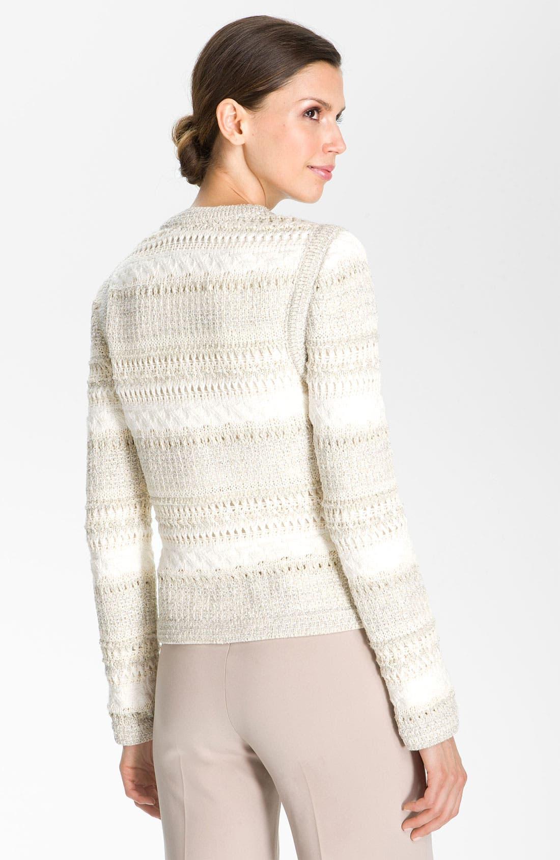 Alternate Image 2  - St. John Collection Knit Jacket
