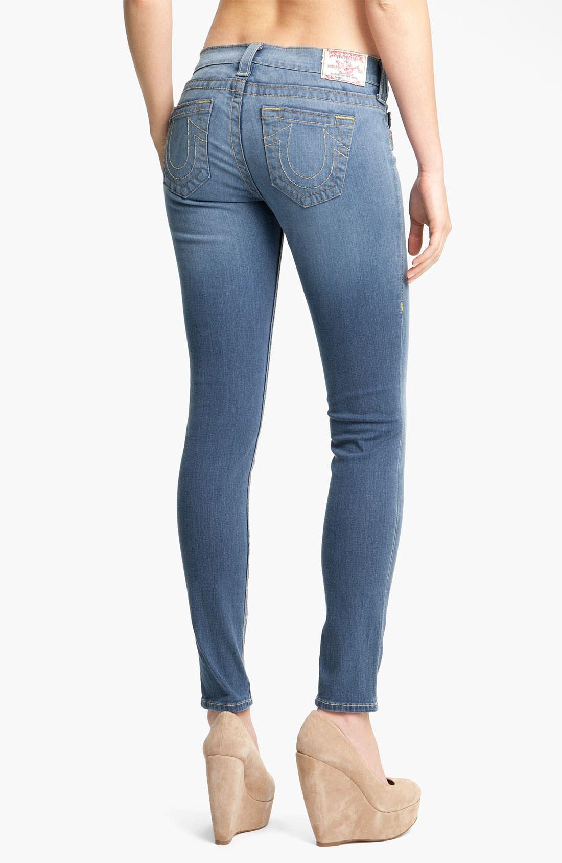 Alternate Image 2  - True Religion Brand Jeans 'Casey' Skinny Stretch Jeans (Stingray)