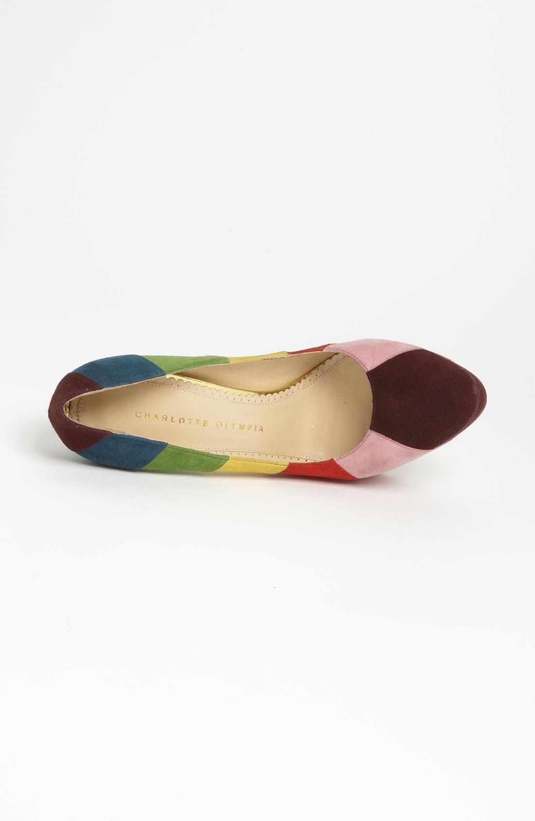 Alternate Image 3  - Charlotte Olympia 'Rainbow' Pump
