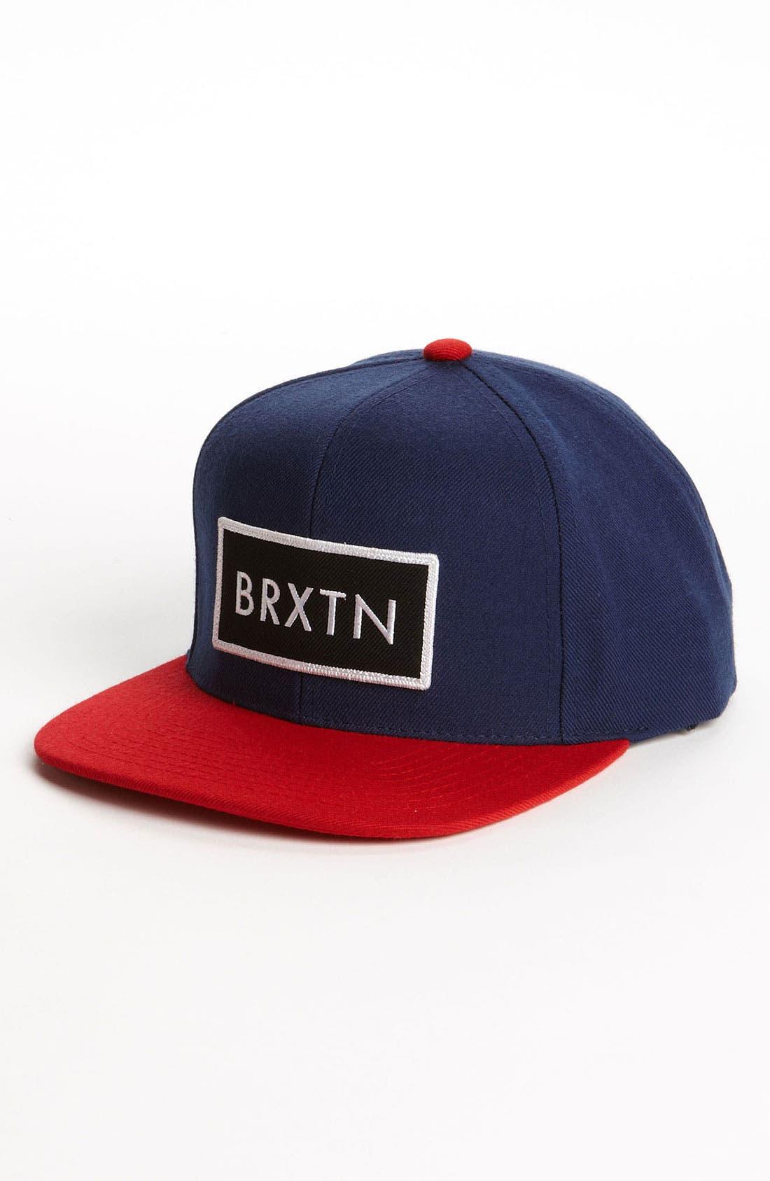 Main Image - Brixton 'Rift' Snapback Baseball Cap