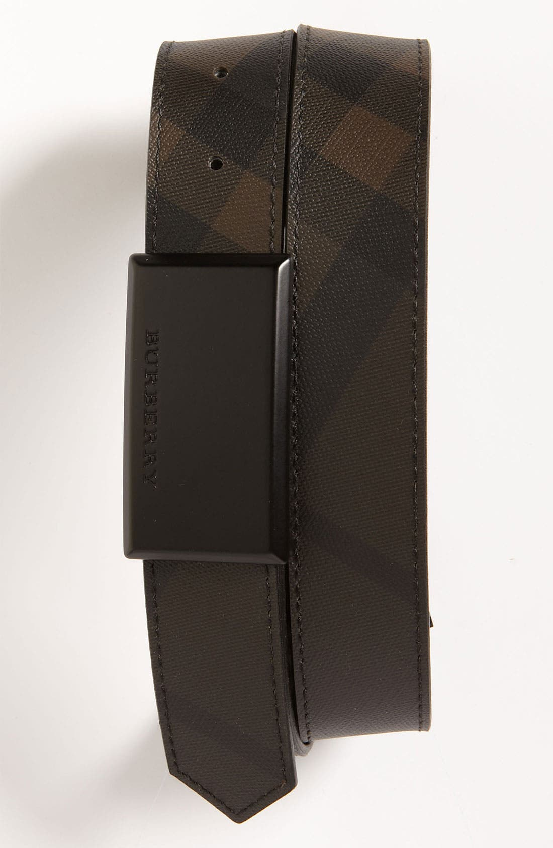 Alternate Image 1 Selected - Burberry Check Belt