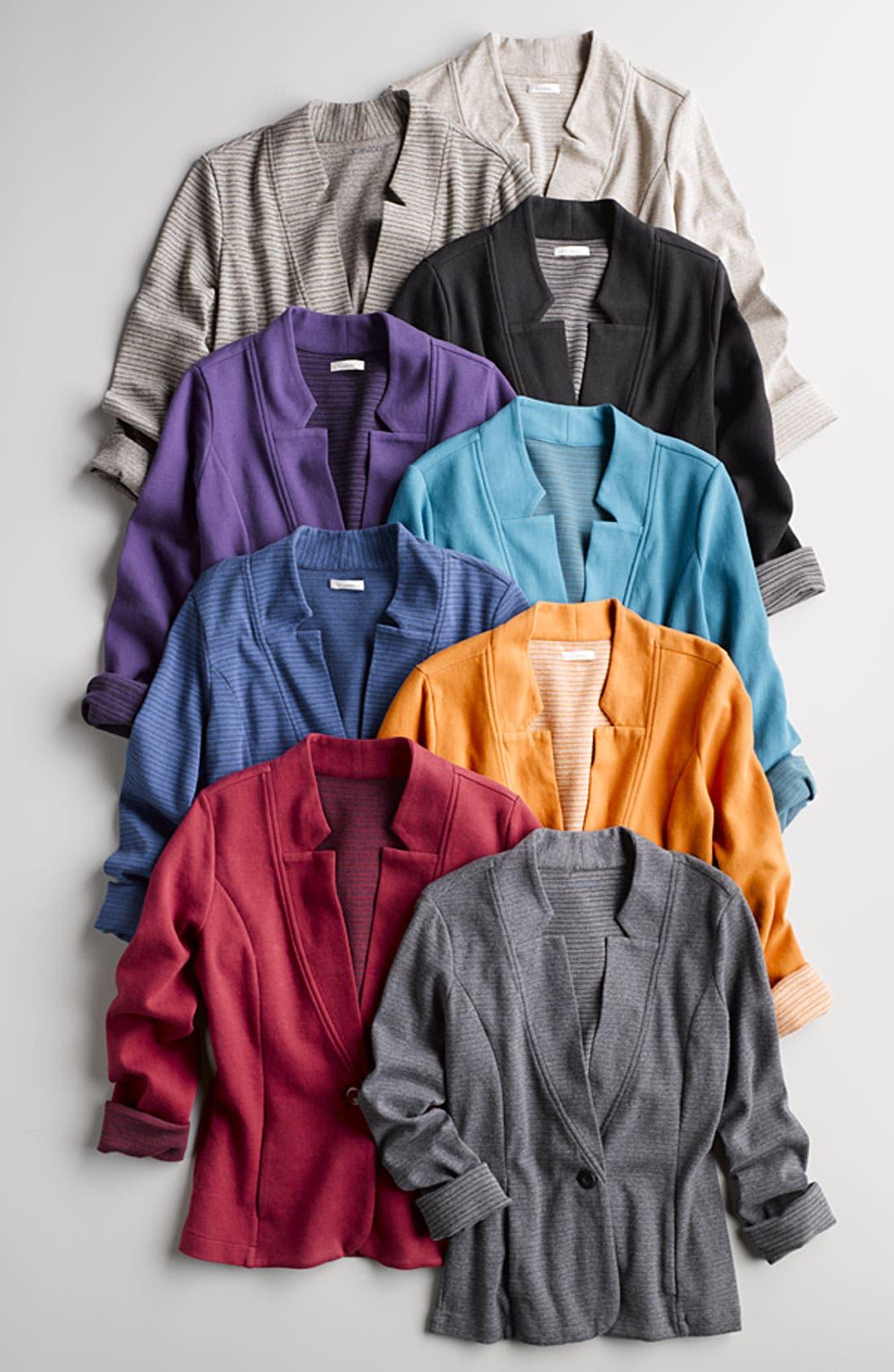 Alternate Image 3  - Caslon® Double Knit Blazer