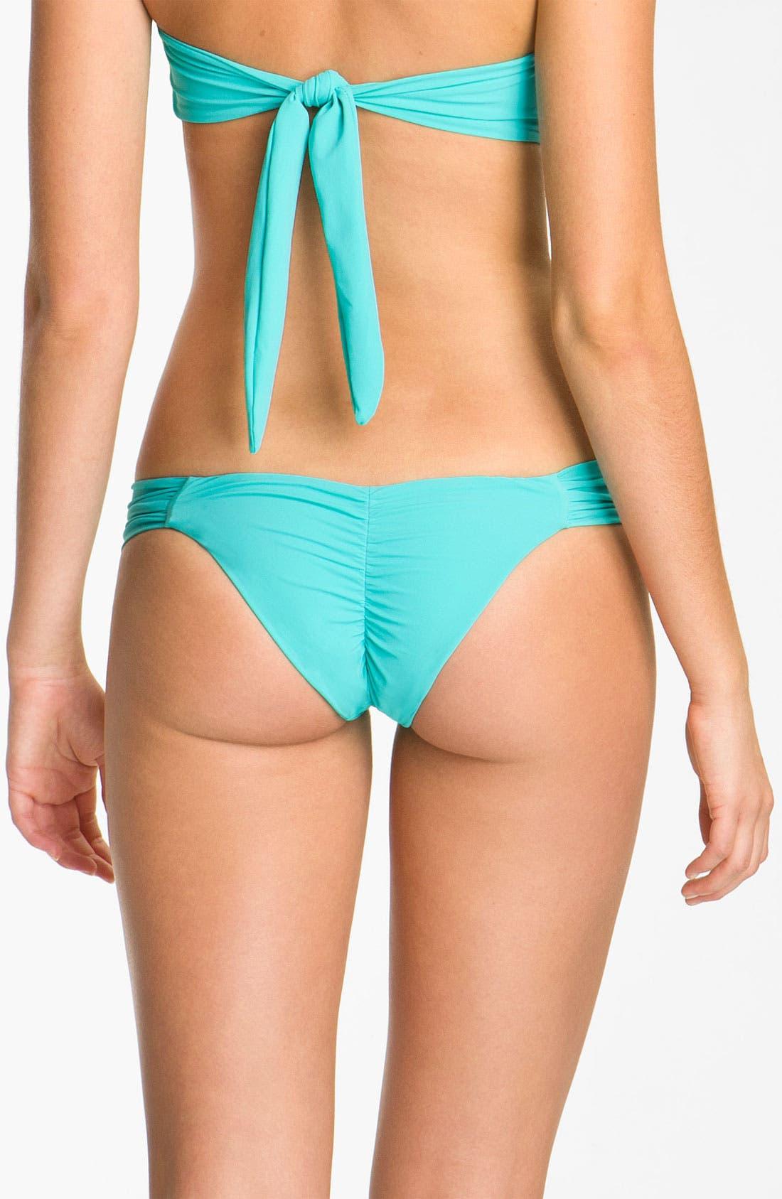 Alternate Image 2  - Beach Bunny 'Show & Tell' Jeweled Hipster Bikini Bottoms