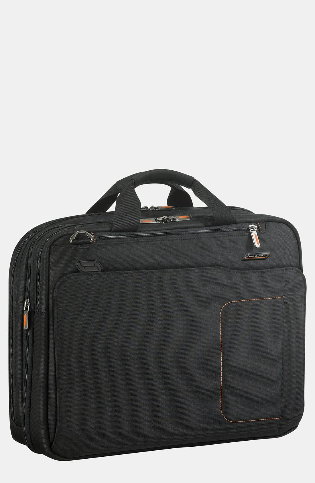 Main Image - Briggs & Riley 'Verb - Amplify' Expandable Briefcase