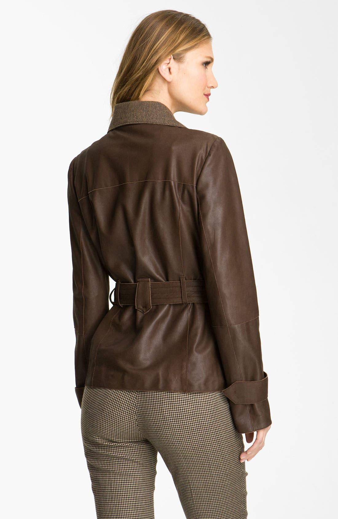 Alternate Image 2  - Weekend Max Mara 'Alvaro' Leather Jacket