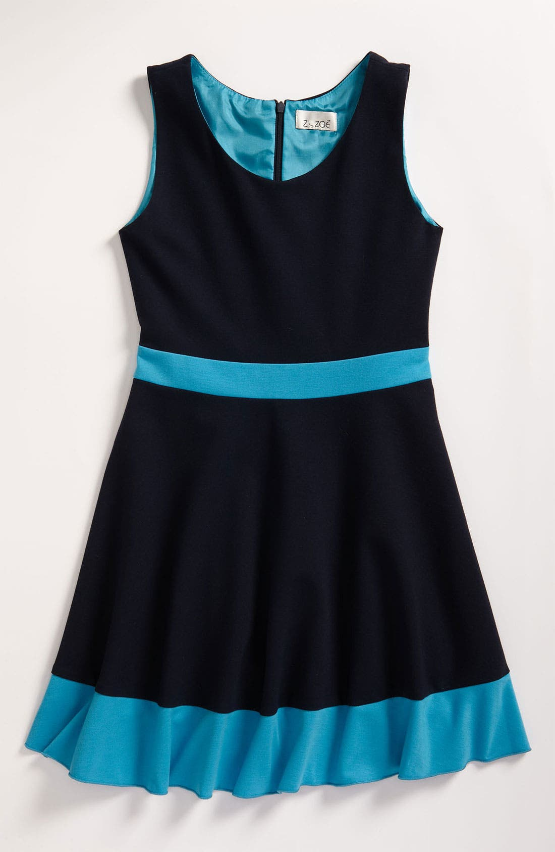 Main Image - Zoe Ltd Colorblock Tank Dress (Big Girls)