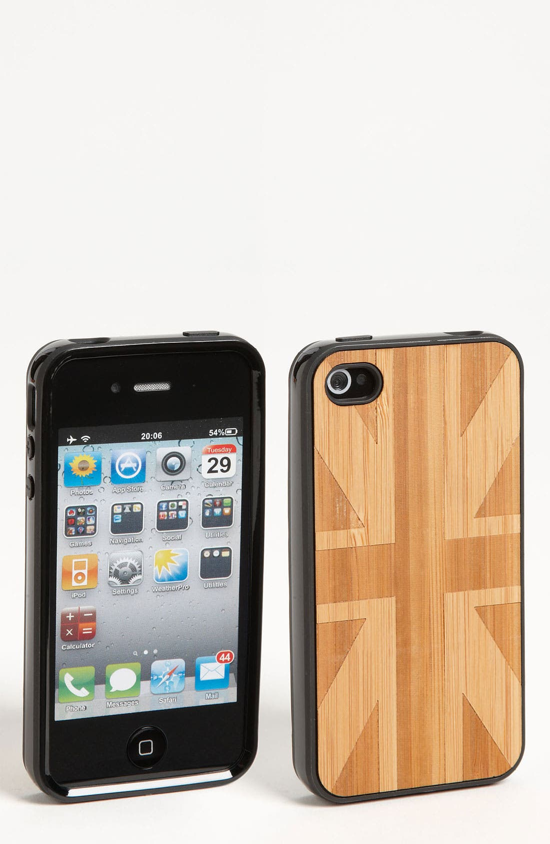 Main Image - Grass Roots 'Union Jack' iPhone 4 & 4S Case
