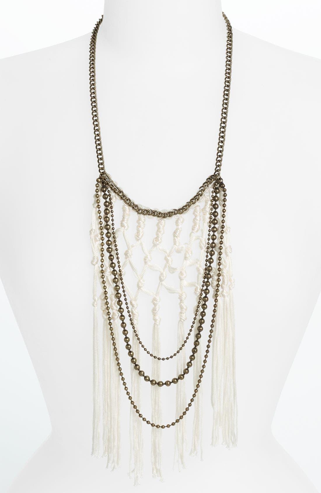 Main Image - Cara Couture Macramé Necklace