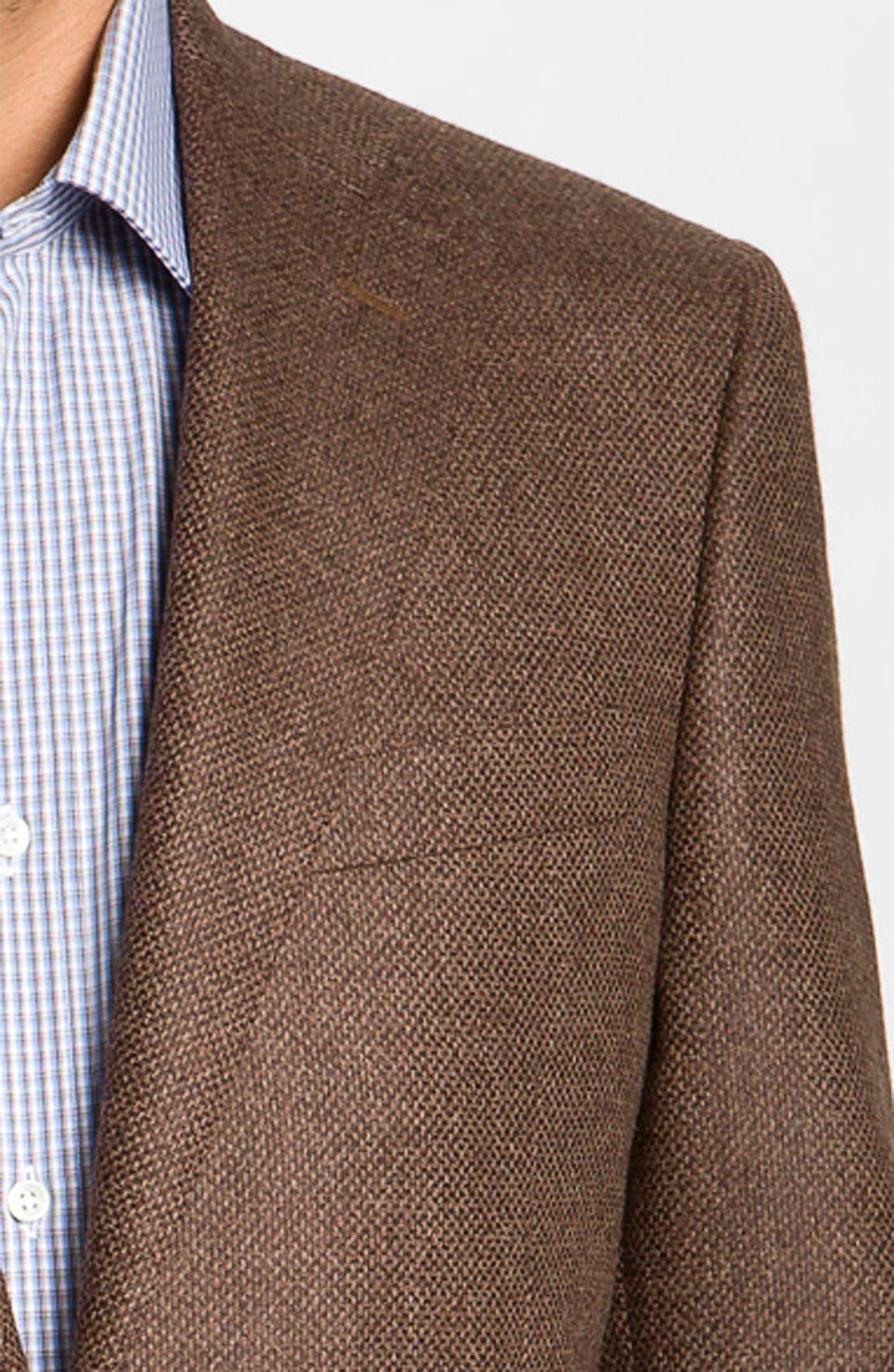 Alternate Image 3  - Canali Wool Blend Sportcoat