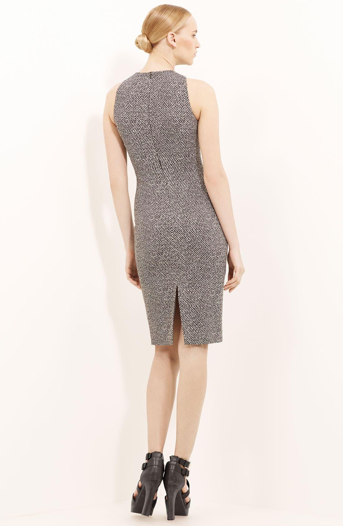 Alternate Image 2  - Michael Kors Tweed Print Cady Dress