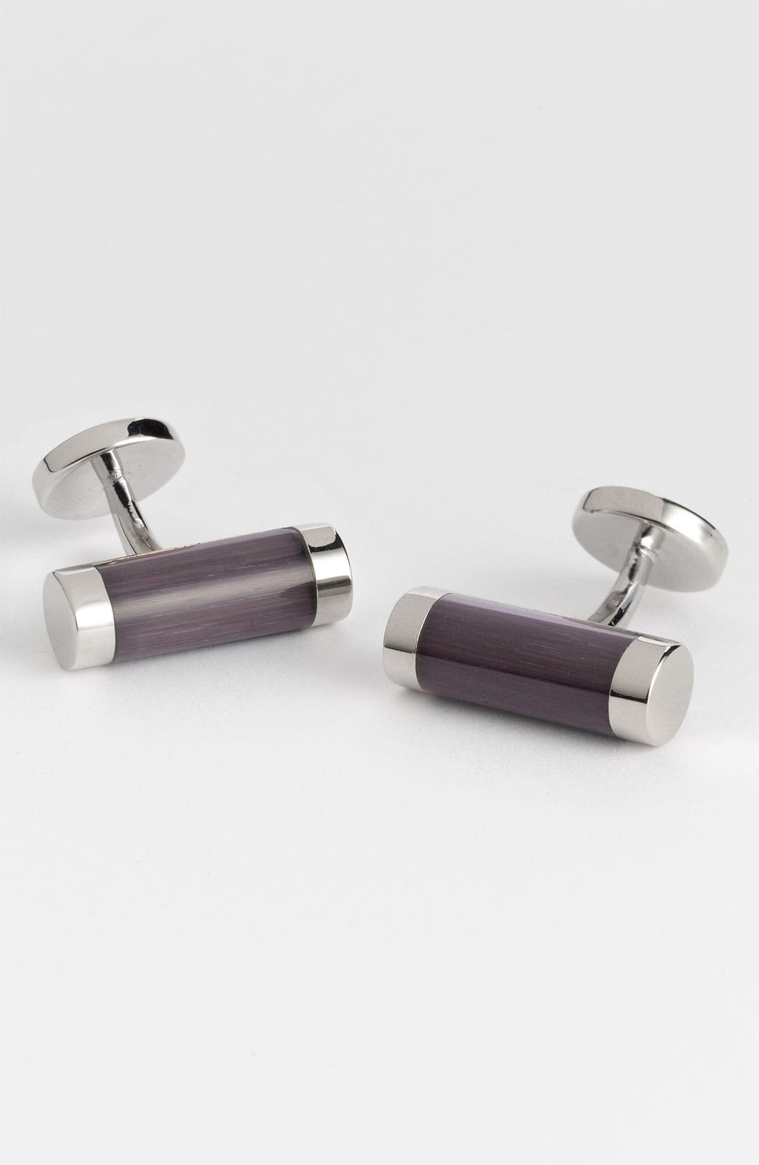 Main Image - Thomas Pink 'Optic Cylinder' Cuff Links