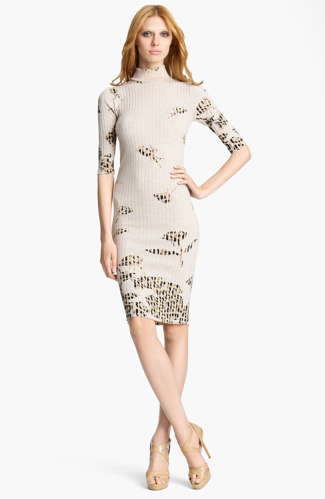 Alternate Image 1 Selected - Blumarine Rib Knit Dress