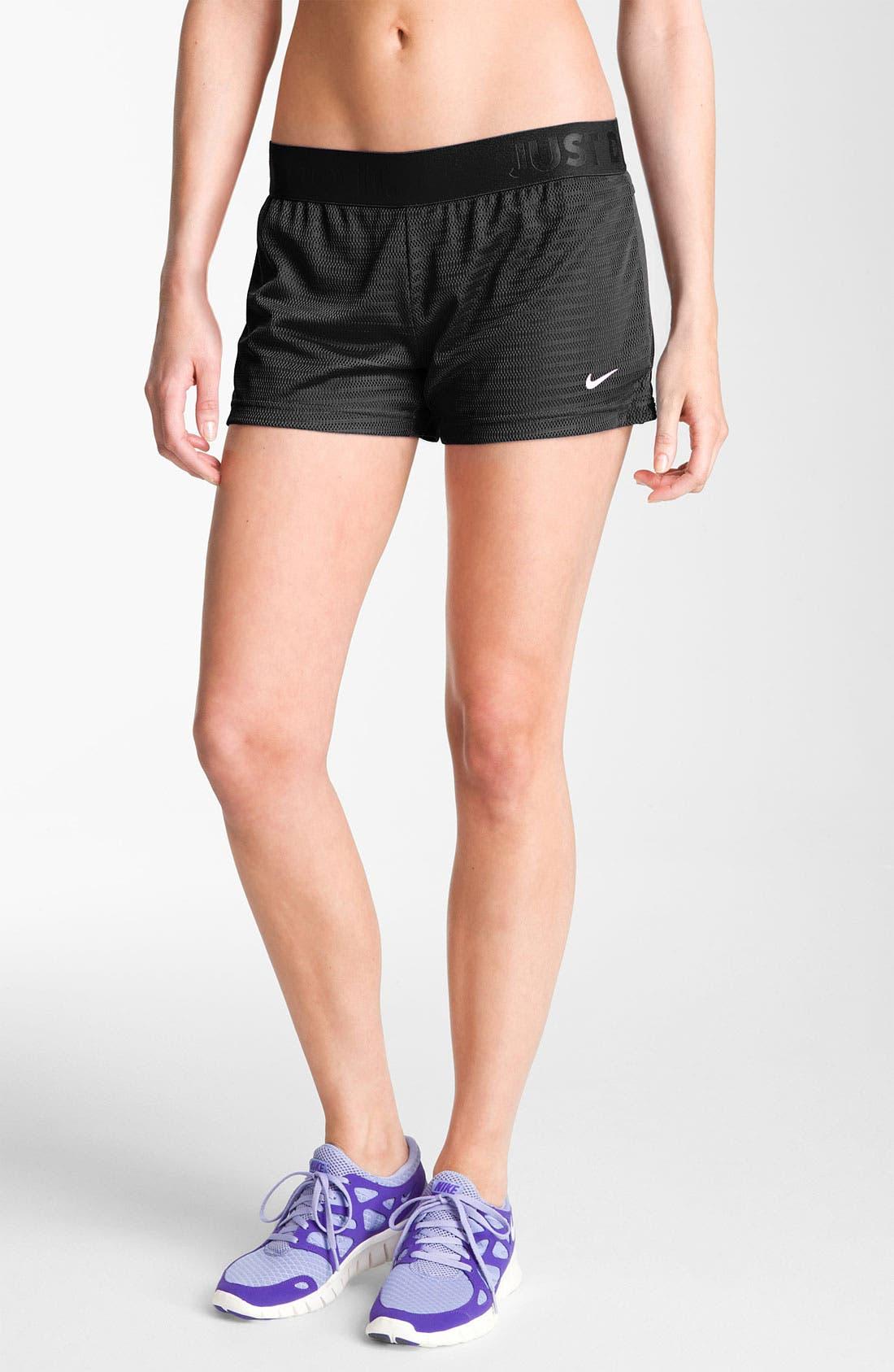 Alternate Image 1 Selected - Nike 'Modern Sport' Mesh Shorts