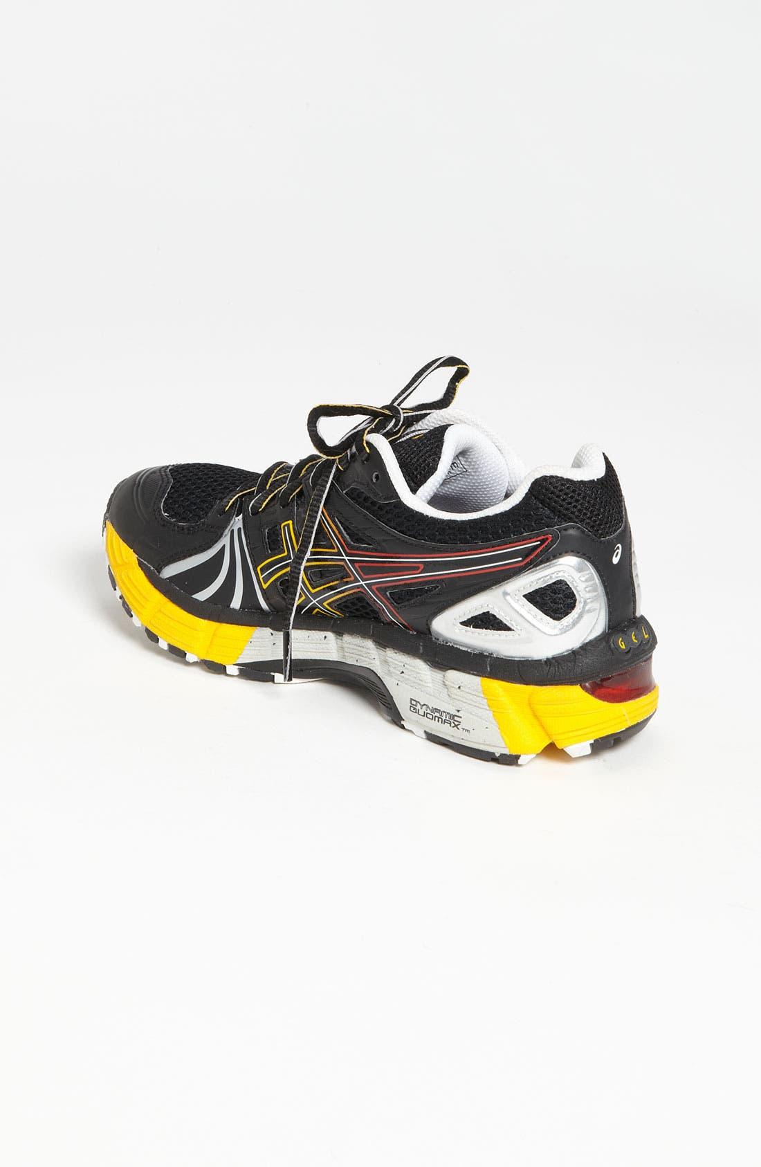 Alternate Image 2  - ASICS® 'GEL-Kayano 18' Training Shoe (Big Kid)
