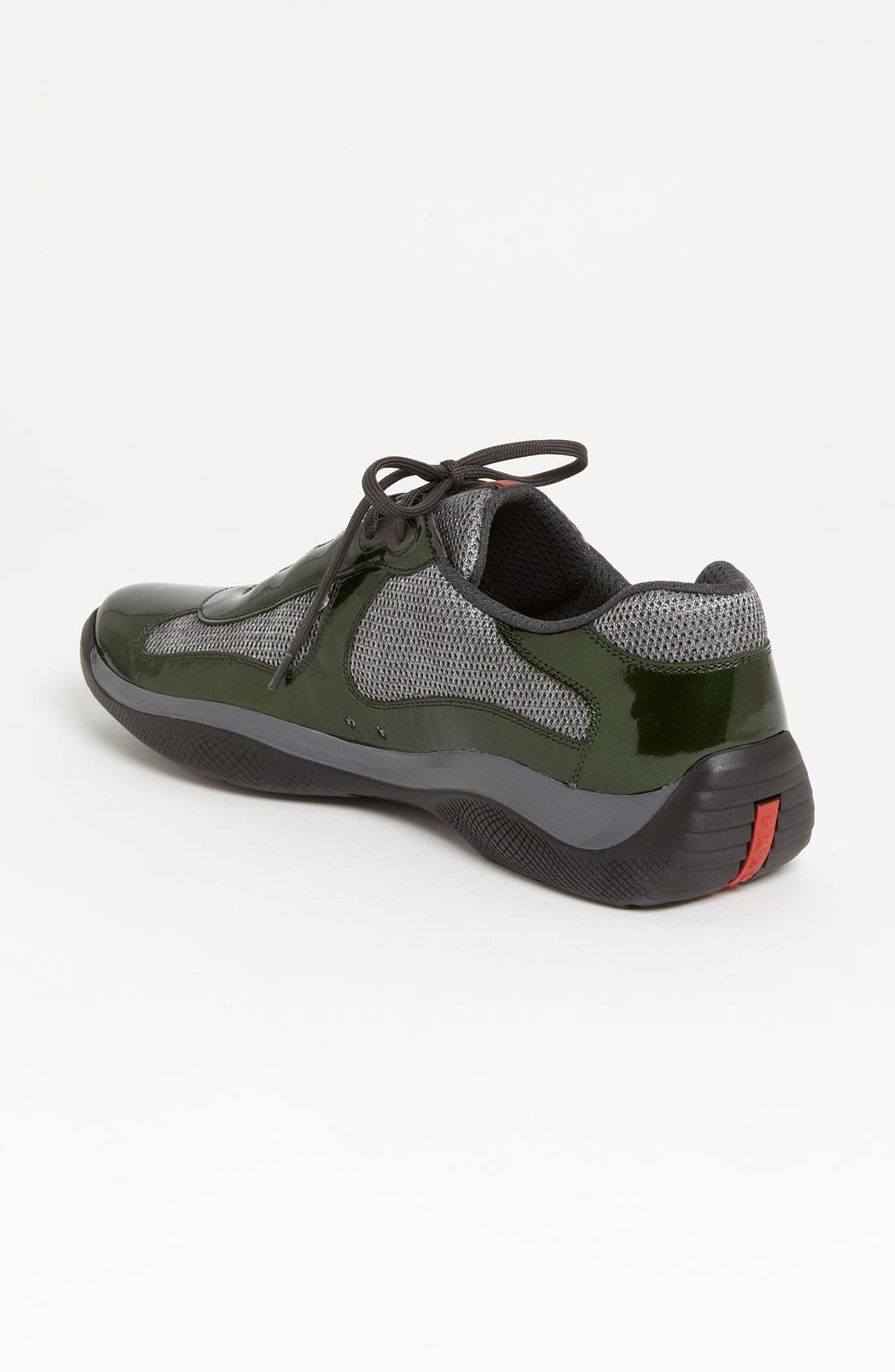 Alternate Image 2  - Prada 'Punta Ala' Mesh & Leather Sneaker (Men)