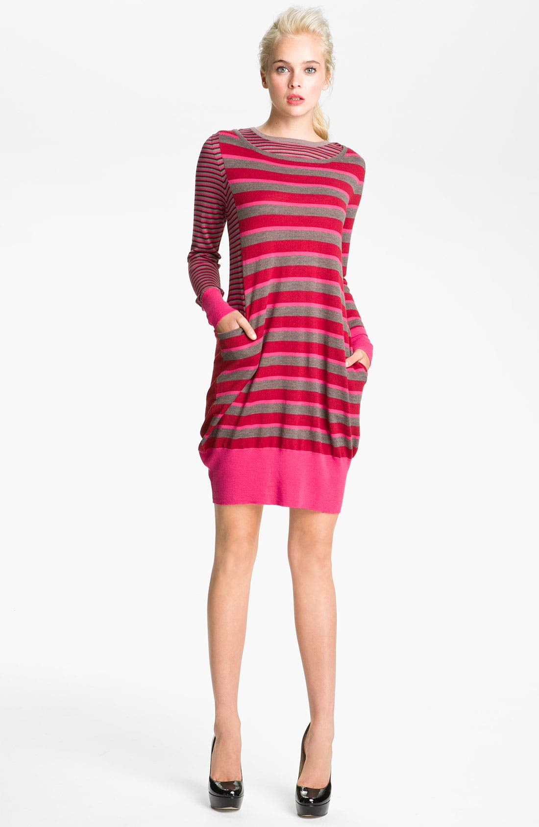Alternate Image 1 Selected - MARC BY MARC JACOBS 'Yaani' Twin Stripe Sweater Dress