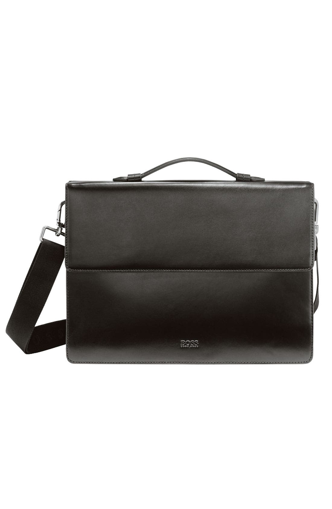 Alternate Image 2  - BOSS Black Slim Briefcase