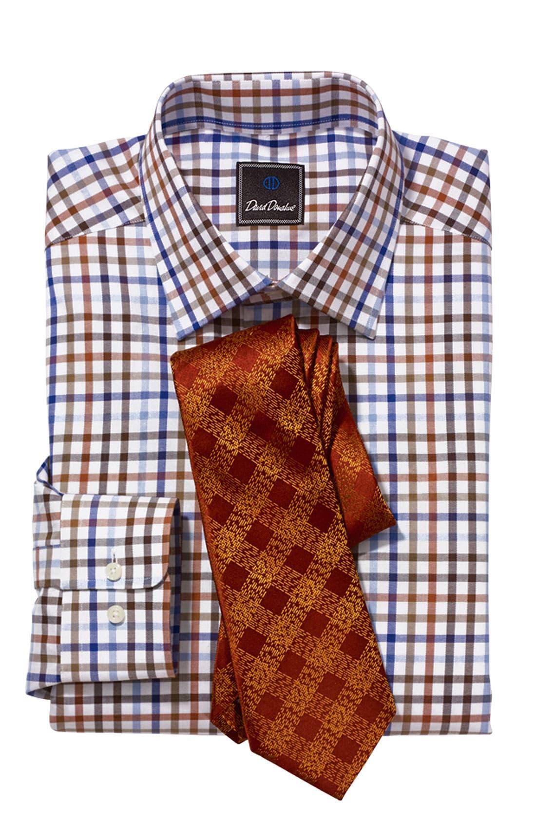 Alternate Image 3  - David Donahue Regular Fit Dress Shirt