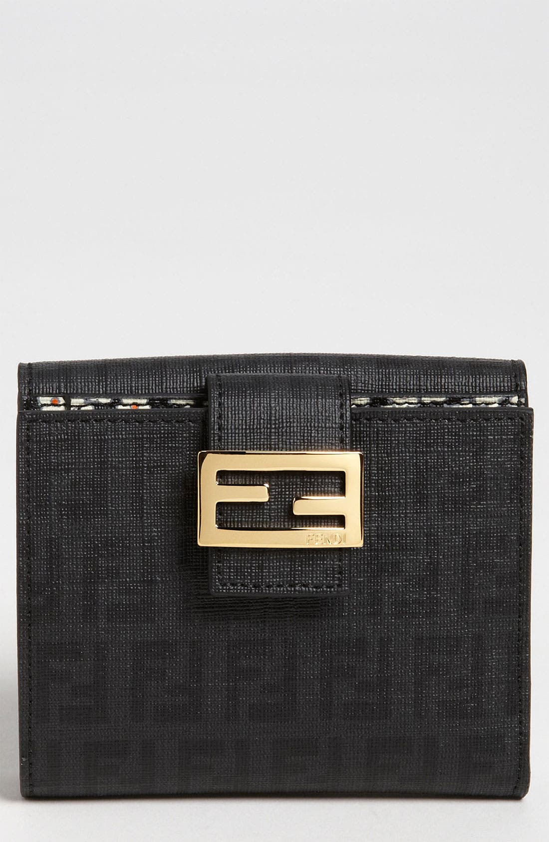 Alternate Image 1 Selected - Fendi 'Forever Flowers' French Wallet