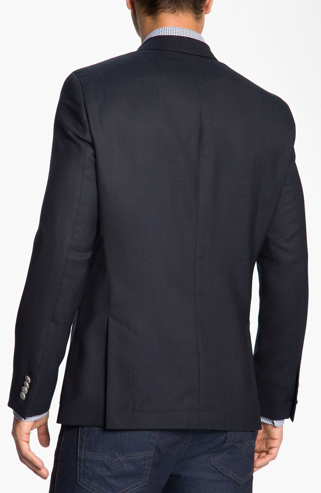 Alternate Image 2  - BOSS Black 'Rover' Extra Trim Fit Wool Blazer