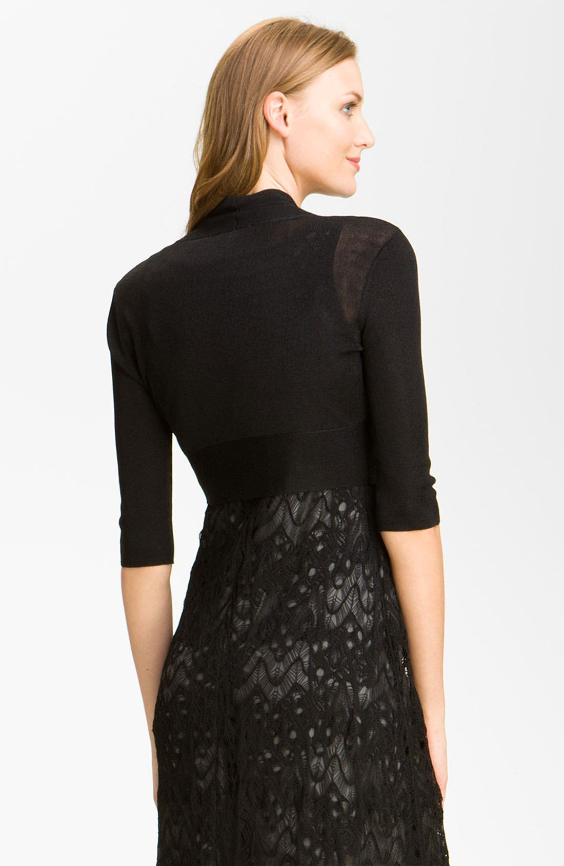 Alternate Image 2  - Eileen Fisher Open Front Shrug (Online Only)