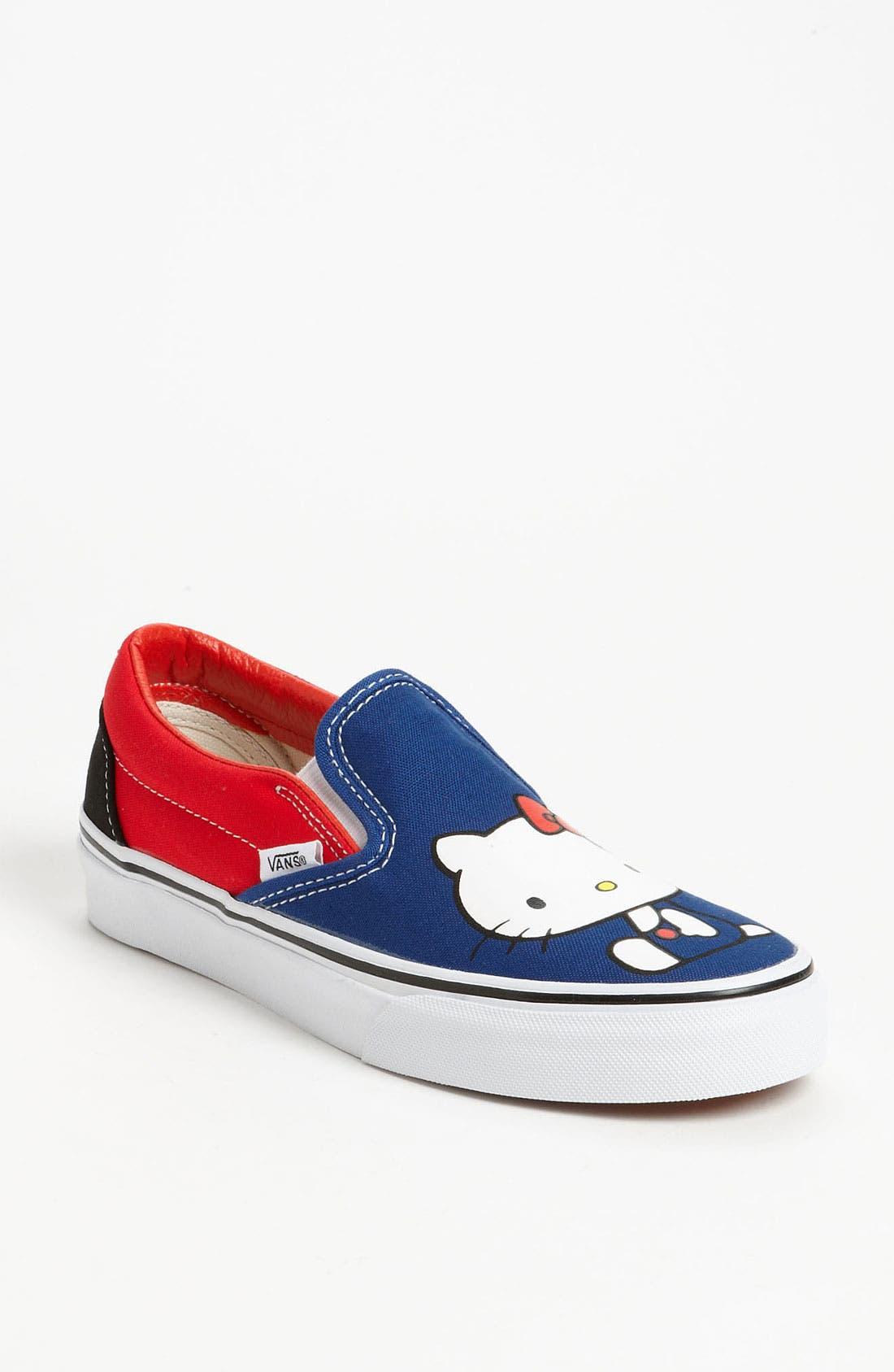 Main Image - Vans 'Classic - Hello Kitty®' Sneaker (Women)