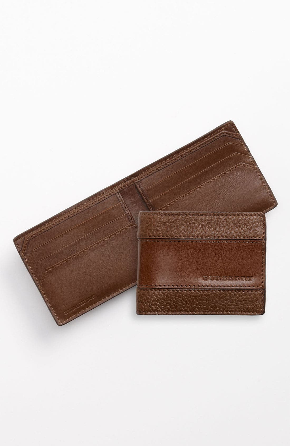 Alternate Image 1 Selected - Burberry Hip Wallet