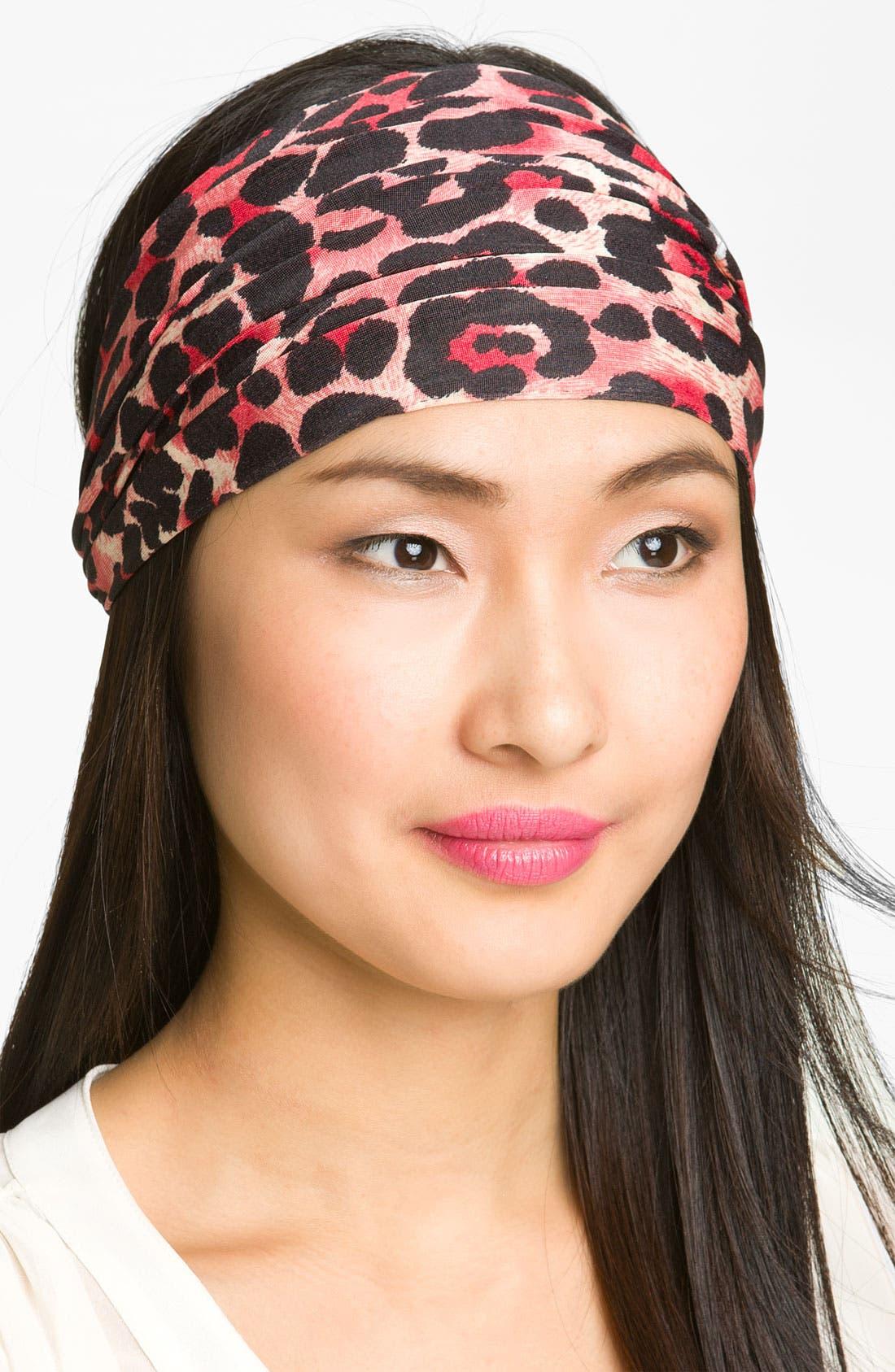 Main Image - Cara 'Leopard Loves Cheetah' Head Wrap