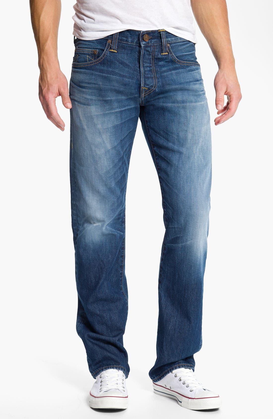 Alternate Image 2  - True Religion Brand Jeans 'Bobby Phoenix' Straight Leg Jeans (Last Stand)