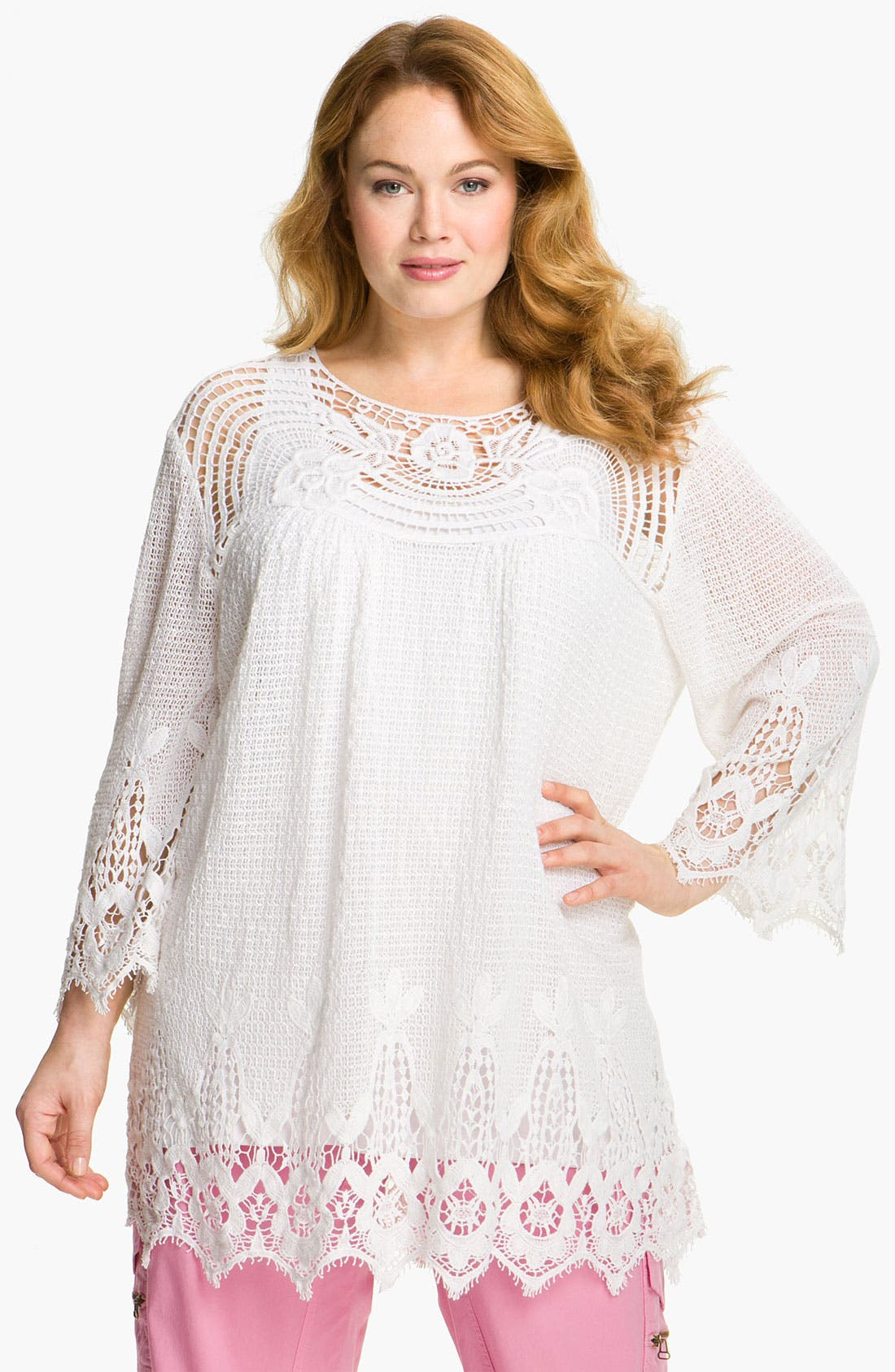 Alternate Image 1 Selected - XCVI Wearables 'Loveliest' Tunic (Plus)