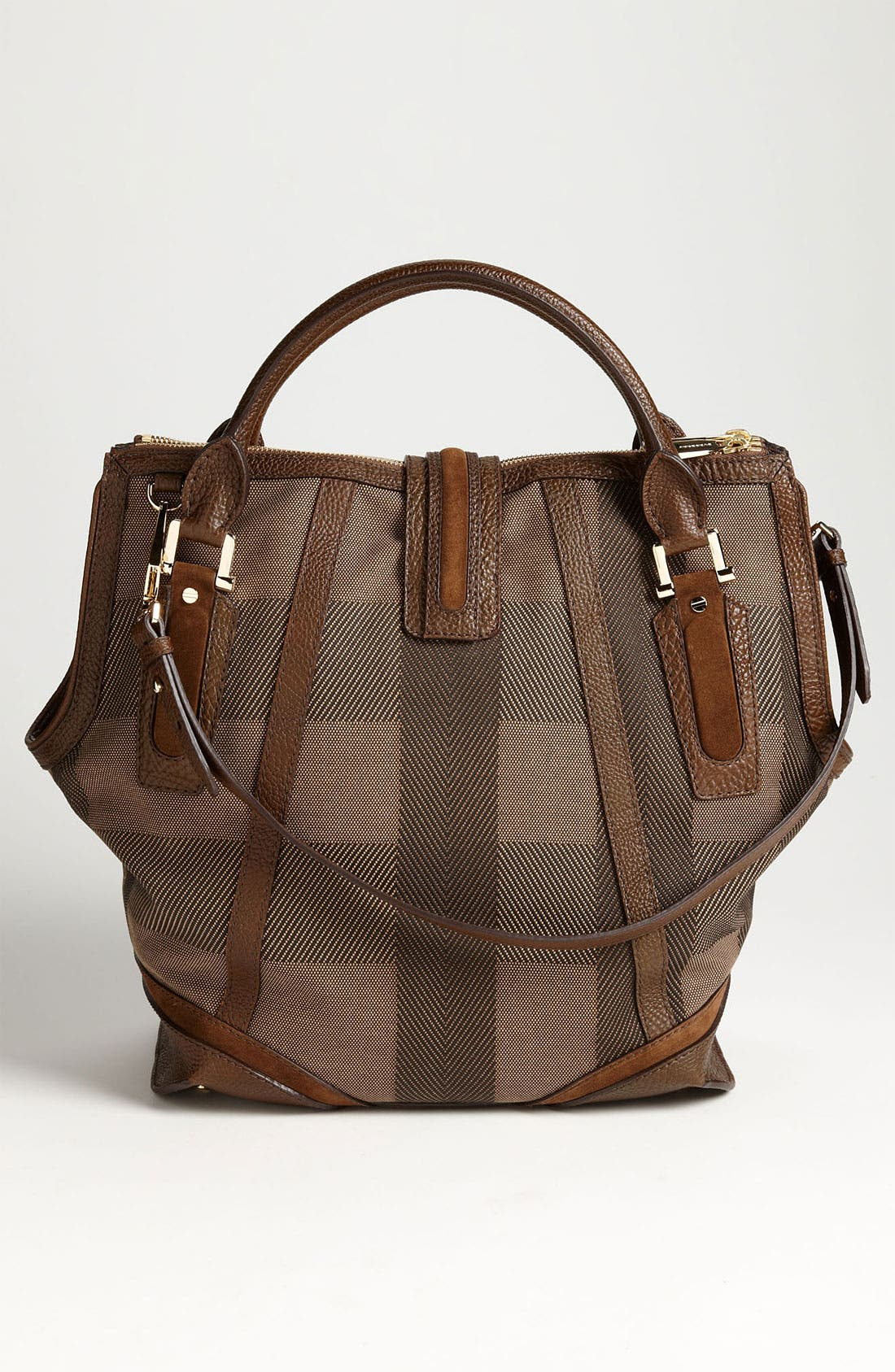 Alternate Image 4  - Burberry Canvas Jacquard Tote