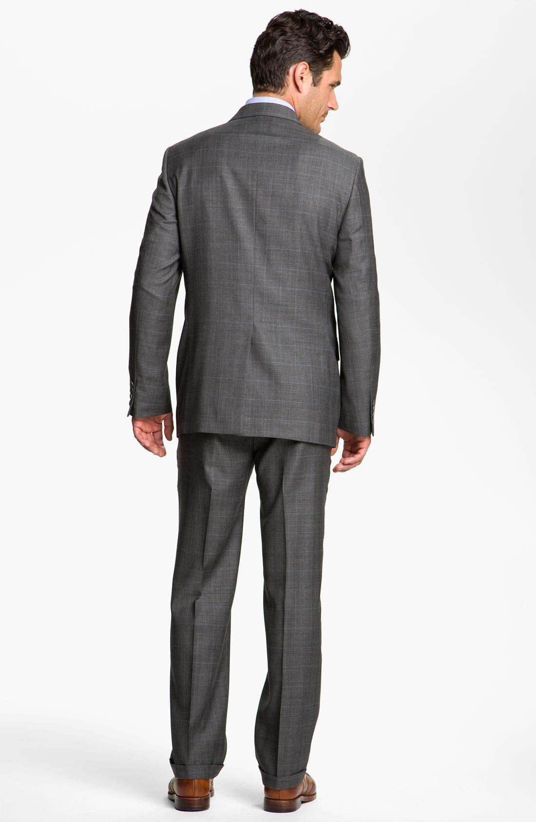 Alternate Image 3  - Joseph Abboud 'Signature Silver' Plaid Suit