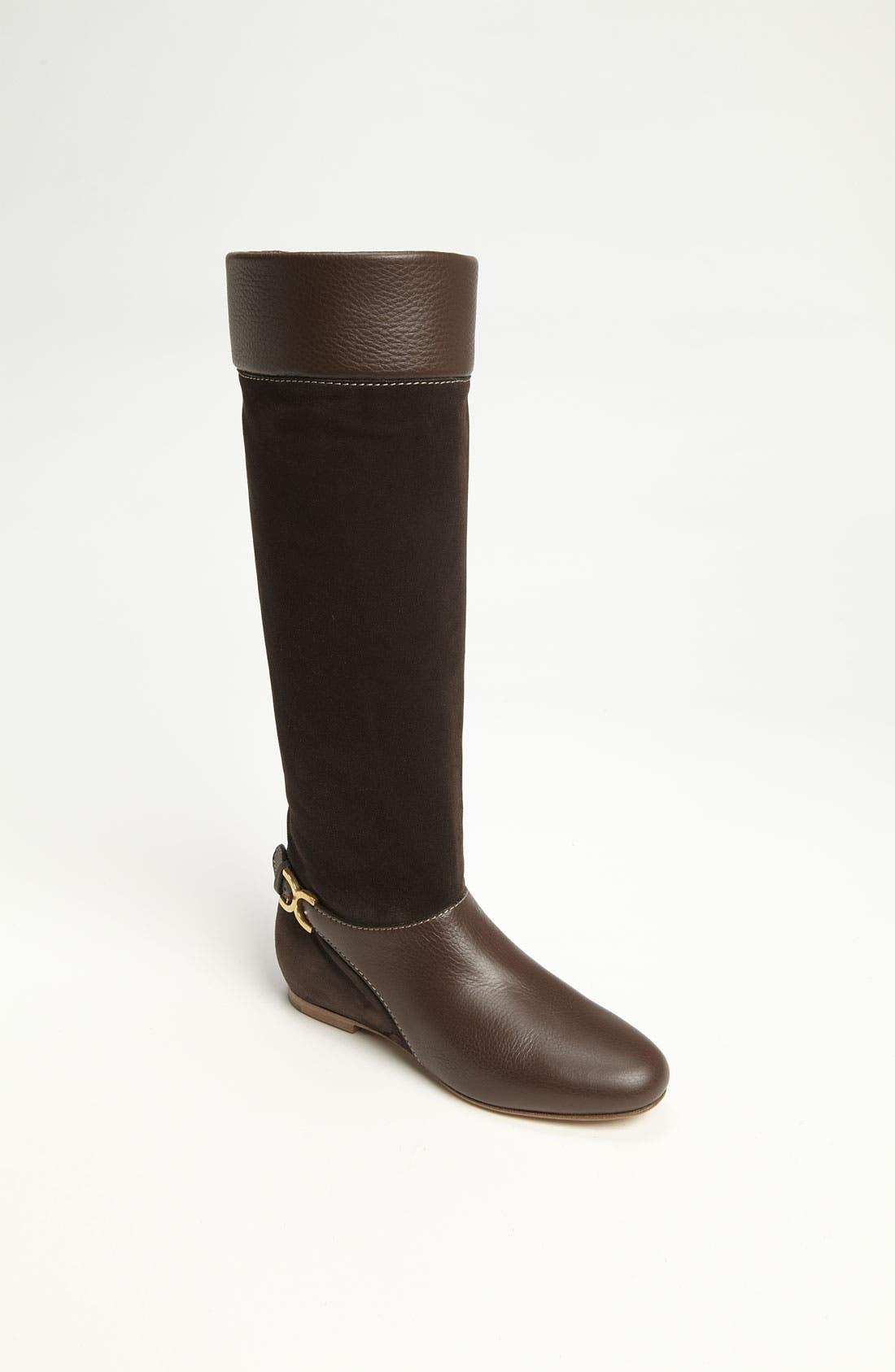 Main Image - Chloé Tall Buckle Boot