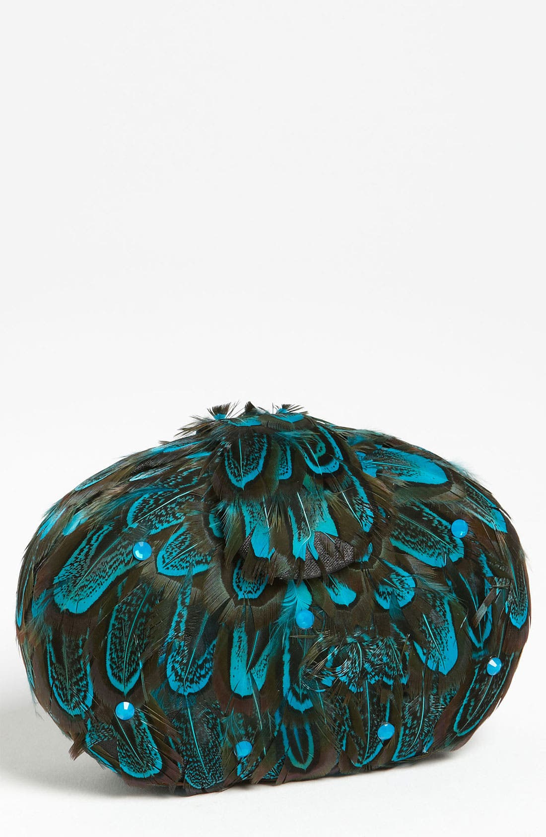 Main Image - Navoh 'Tweety' Feather Clutch