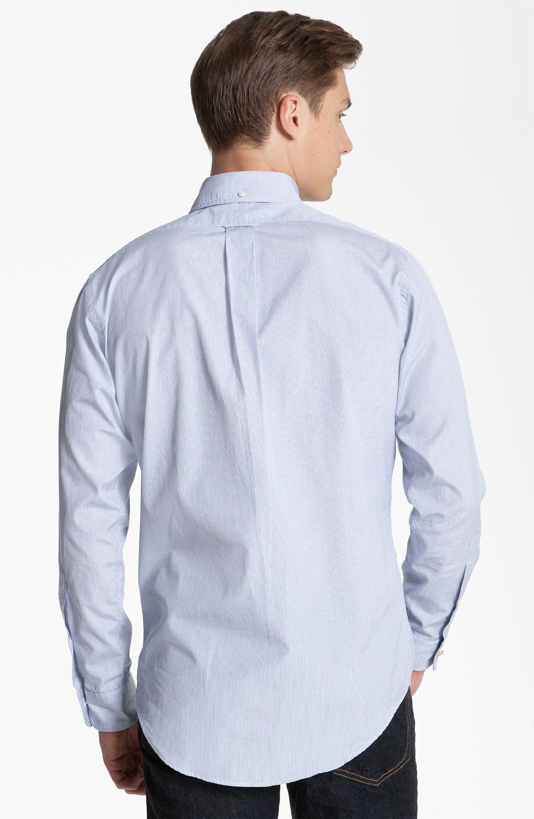 Alternate Image 2  - Brooks Brothers by Jeffrey Tattersall Woven Shirt