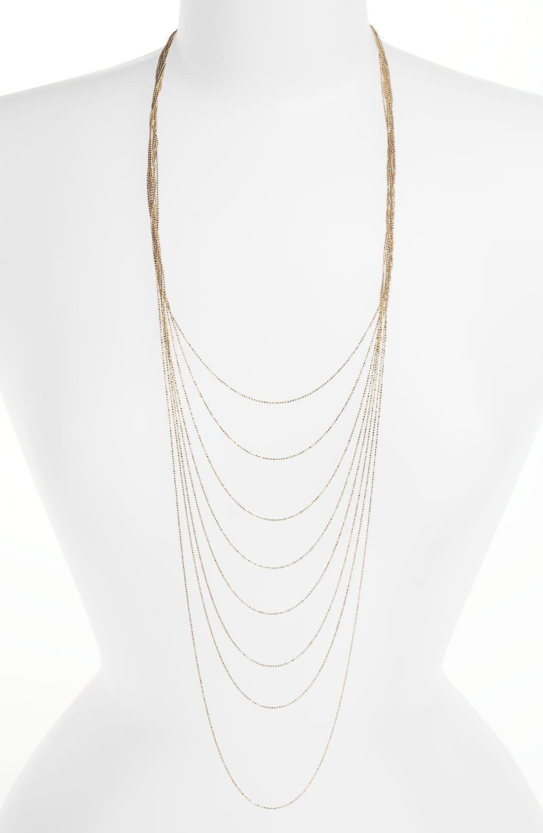 Main Image - Rachel Layered Chain Necklace