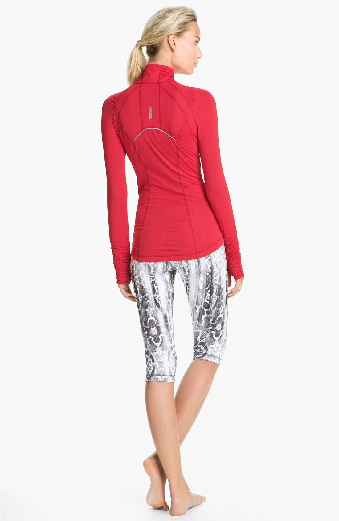 Alternate Image 5  - Zella 'Micro Jersey' Half Zip Pullover