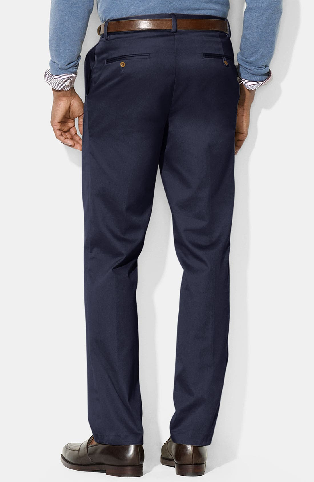 Alternate Image 2  - Polo Ralph Lauren 'Preston' Brushed Cotton Pants