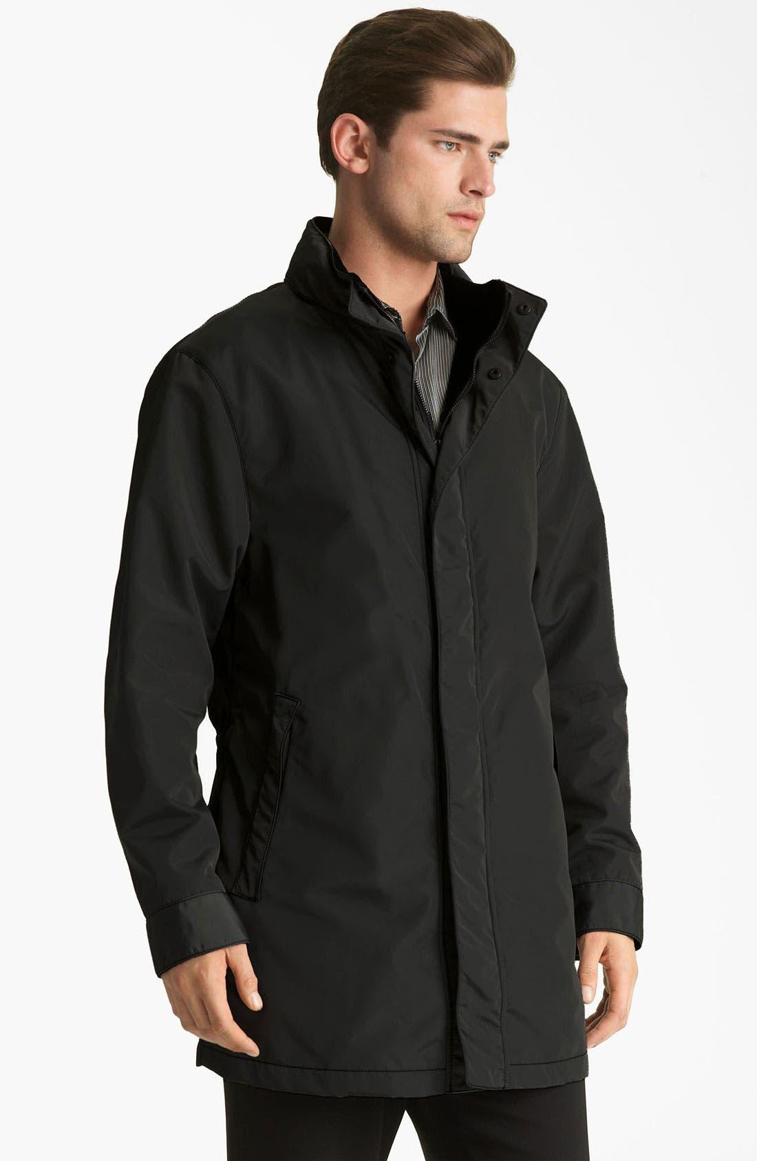 Main Image - Armani Collezioni Long Overcoat