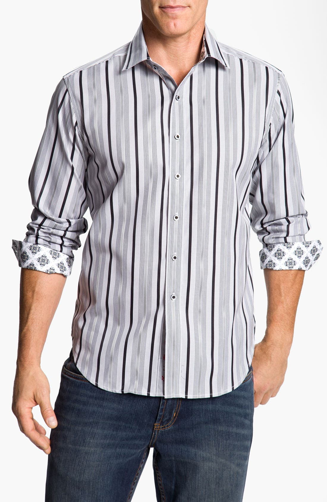 Alternate Image 1 Selected - Robert Graham 'Buckingham' Sport Shirt