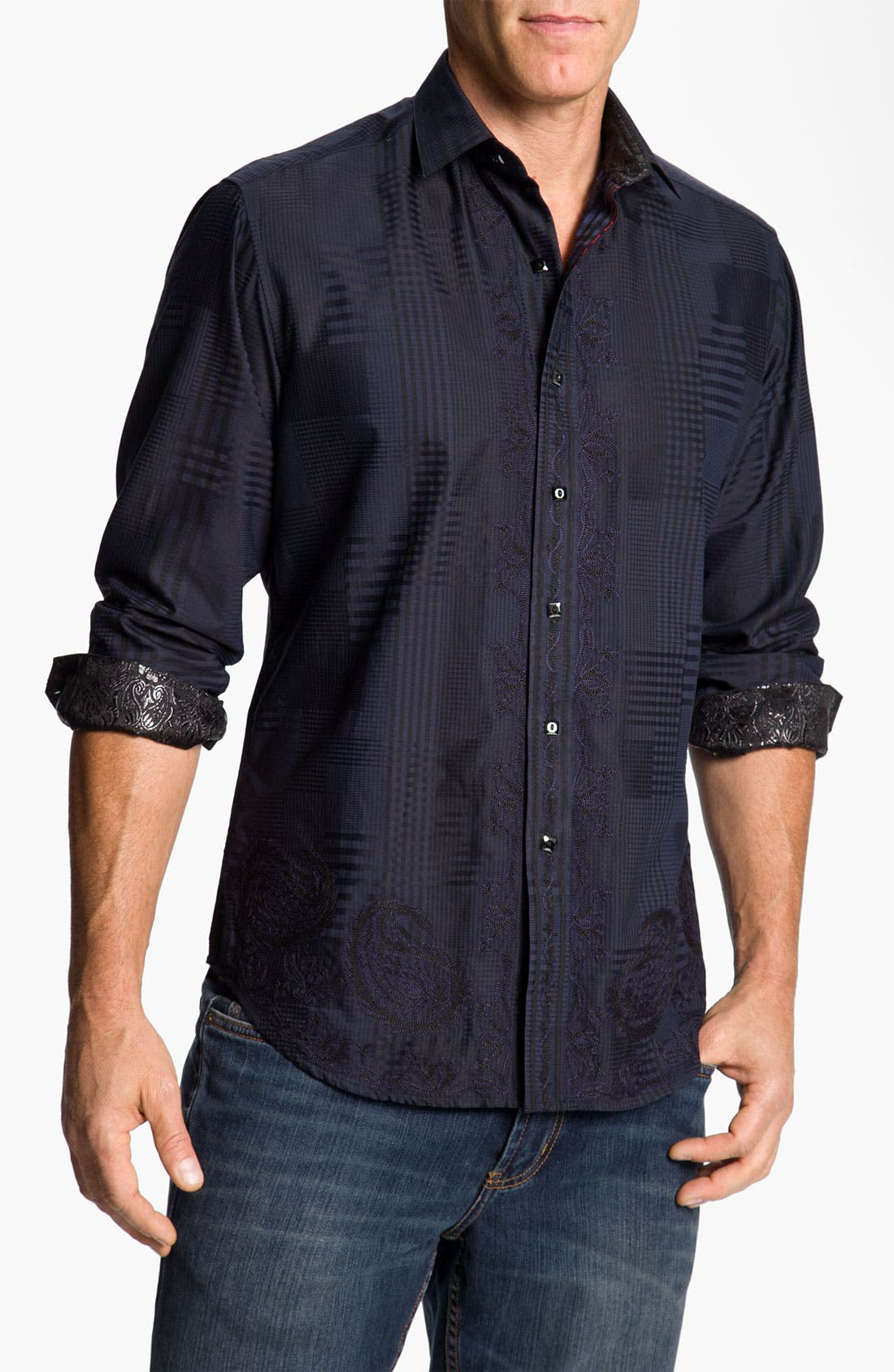 Main Image - Robert Graham 'Riddick' Sport Shirt